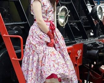 50s Style Dress New Look Original Pattern
