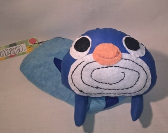 Poliwag tadpole plush toy plushie Pokemon