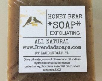 soap-Honey Bear ALL NATURAL