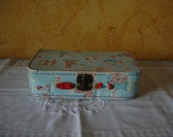 Valisette Nounours Nicolas Pimprennelle . Bonne nuit les petits. Vintage. France