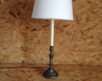 C18 French candlestick lamp AD8