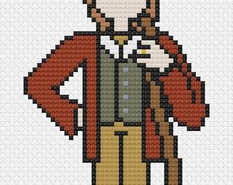 Bilbo Baggins - Cross Stitch Pattern