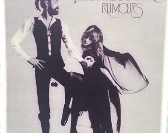 Fleetwood Mac Rumours Vintage 1978 Iron On Heat Transfer