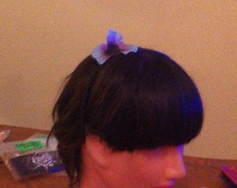 Ladies Blue Flower Headband