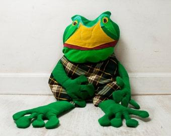 frog doll pilow