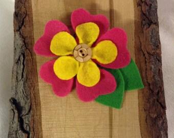Tropical Flower Pin