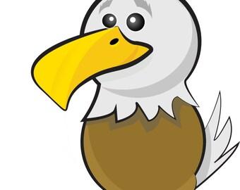 Eagle clipart – Etsy