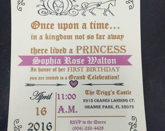 Baby's First Birthday Invitations