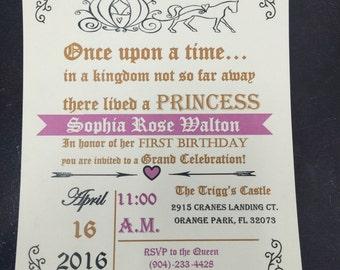 Baby's First Birthday Invitations