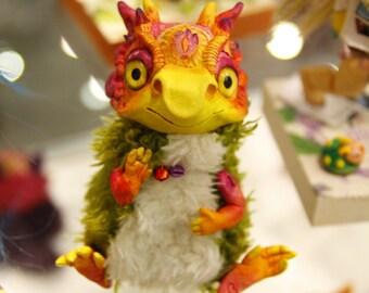 Drakaris - art doll, OOAK