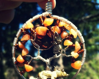 In the Forest Tree of Life Pendant