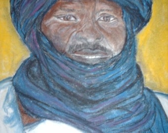 The school of Bamba Director Malian man