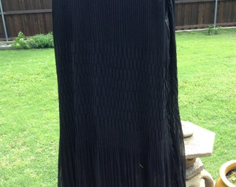 Black chiffon Dress by Urban Mango
