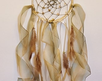 Sage and Ivory Dream Catcher