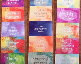 15 Inclusive Birth Affirmation Cards
