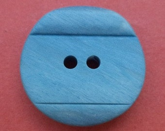 10 buttons 20mm light blue (6415) button