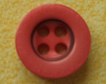 10 small red buttons 9mm (4113) button