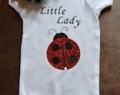 Little Lady Ladybug Onesie