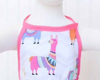 Alpaca Halter/ Crop top w/ pink Pom Poms
