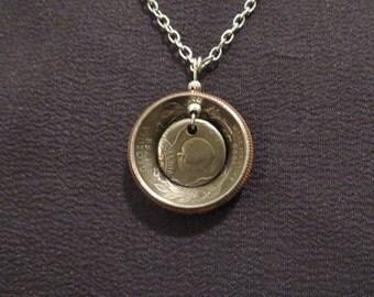 Georgia Quarter Necklace