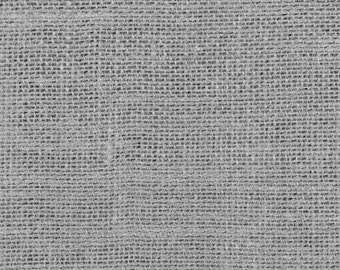 "11oz Gray Burlap by the Yard - 60"" Wide, 100% Jute"