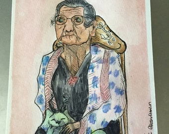 Old Lady With an Interesting Back Story