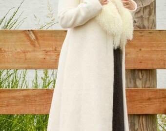 Winter coat, size 8