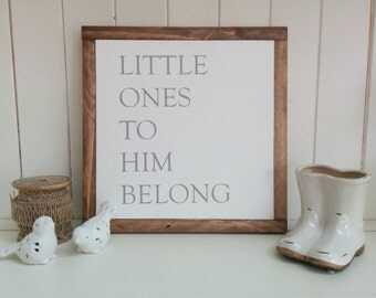 Little Ones To Him Belong