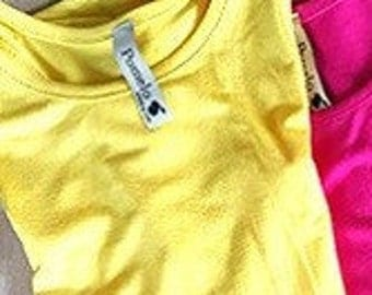 Chilldren's Yellow Tank Top