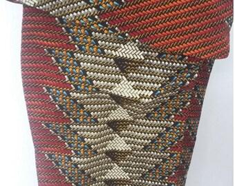 African Fabric, THE MAT AFRICAN Fabric, Ankara Print, Multicolored Ankara, African Print, Ankara Fabric