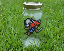 Legend of Zelda Perler Fairy in a Bottle