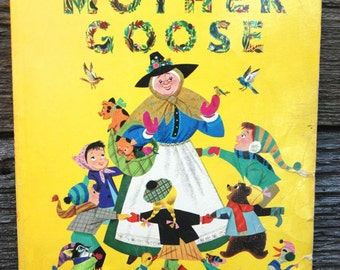 The golden treasury of Mother Goose, Childrens book
