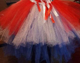 Patriotic tutu skirt