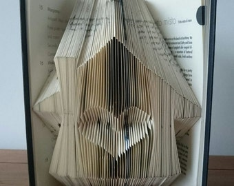 Home is Where the Heart is Bookfolding Pattern