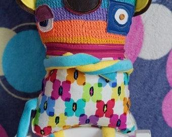 Plush toy monster crazy monkey :)