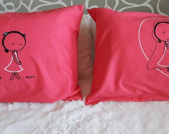 19R- Will you marry me ? . Bed Pillow Cases / Covers