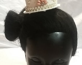 Mini Top Hat - Bridal Top Hat - Party Top Hat