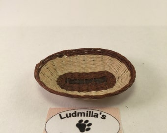 two tone oval basket pugliese