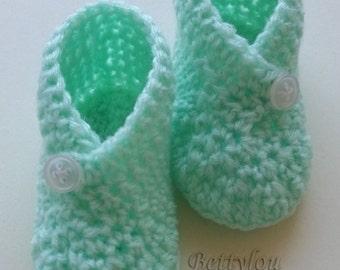 "TUTO slippers baby ""Brace"""