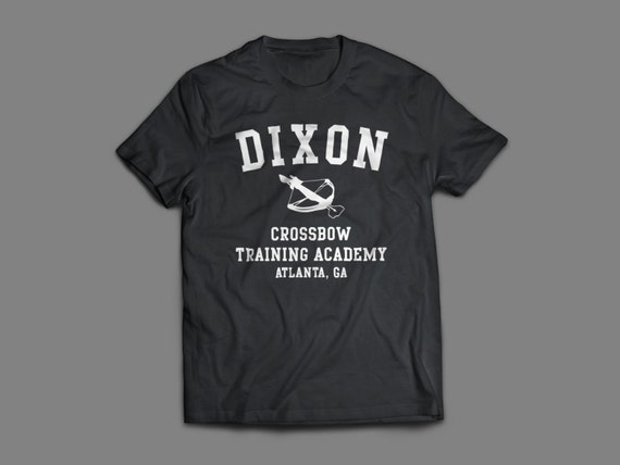 """The Walking Dead """"Dixon Crossbow Training Academy""""  Shirt S-4XL and Long Sleeve Available TWD"""
