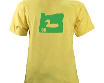 Original Vintage I Duck Oregon University Football T-Shirt
