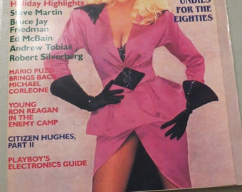 Vintage Playboy December 1984 Magazine