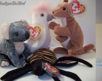"""TY Beanie Baby """"Down Under"""" Collection"""