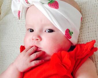Strawberry Printed Wrap