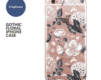 floral iphone case, iPhone 7, 7 Plus Case Floral, iPhone 6s Case Floral, iPhone 6s Plus Case, Floral iPhone 6 Case (Ships From UK)