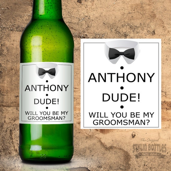 Wedding Gifts For My Groomsmen : Groomsmen Gift, Wedding Gift Ideas, Will You Be My Groomsman Beer ...