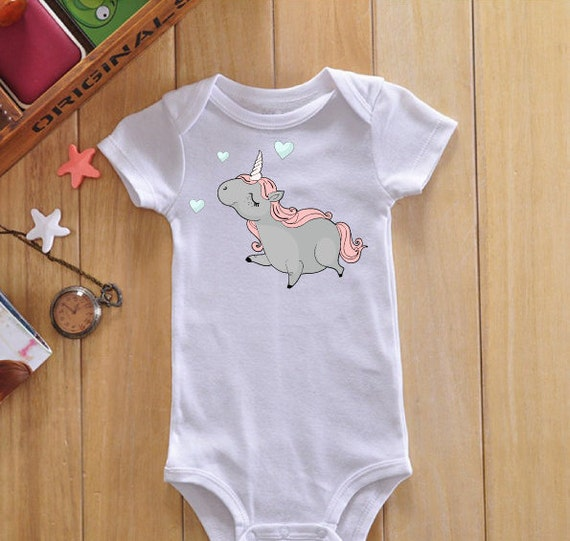 Items similar to Unicorn baby onesie cute baby clothes