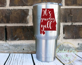 """Shop """"alabama decal"""" in Kitchen & Dining"""