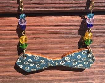 Natural Whimsy Collection: Bowtie Necklace