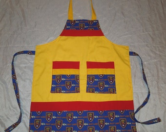 Real Salt Lake City Tailgating, BBQ, Cooking and Craft Apron